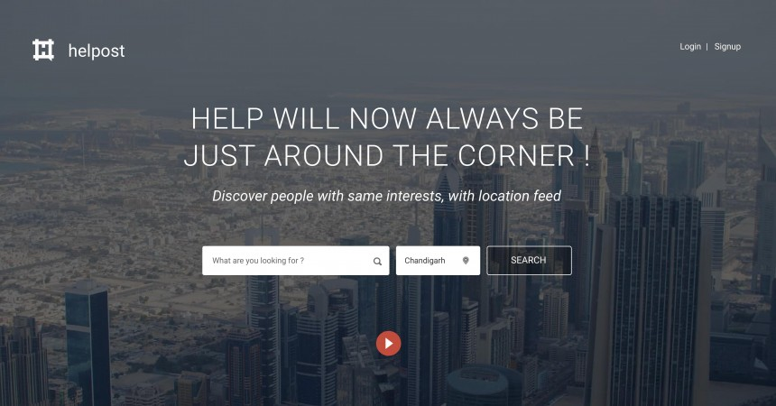 HELPOST Announces The Launch of Its Website: A Social Professional Platform!