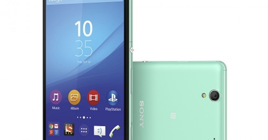 Sony Launches XperiaT C4: The Next Generation 'Selfie Smartphone'