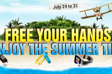 GearBest Announced Deals On Smart Watches Till July 31st!