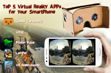 Top 5 Virtual Reality Apps for your Smartphone