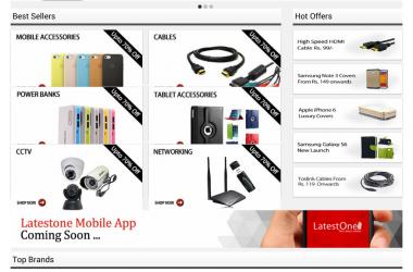 LatestOne.com Crosses Milestone Of 1 Lac Orders In a Month – Announces BIG SALE !