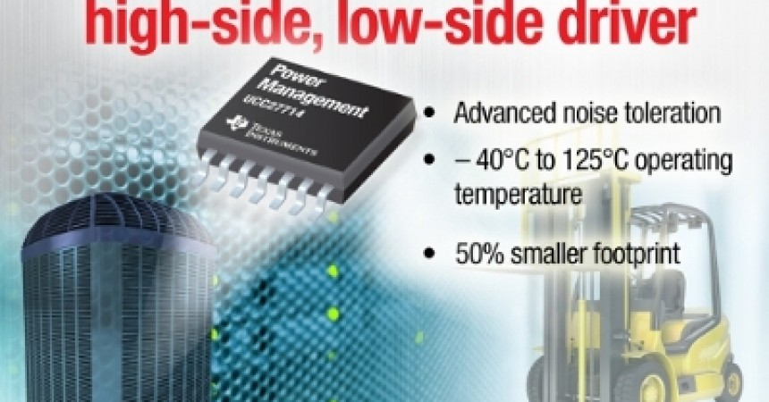 Industry's Fastest 600-v Gate Driver From IT Enables Higher Power Density In Server And Industrial Power