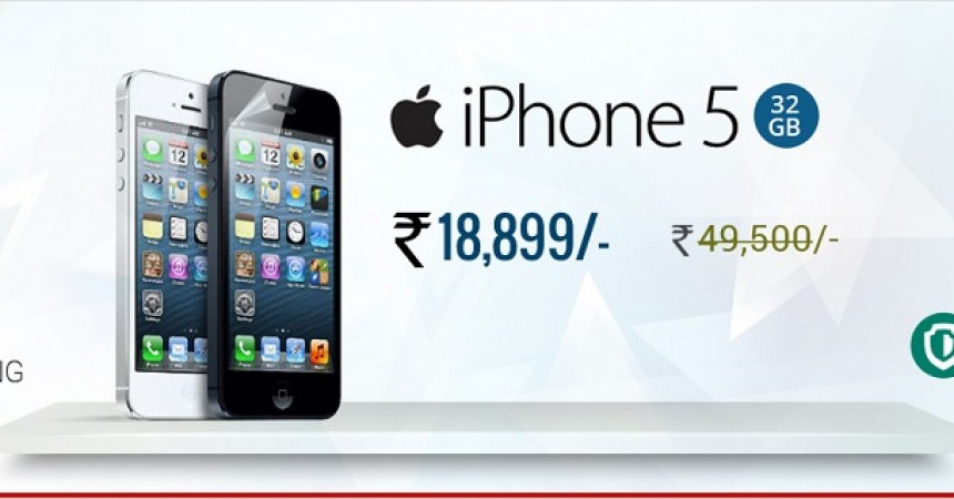 GreenDust iPhone 5 Flash Sale Starts at Just Rs.18999!