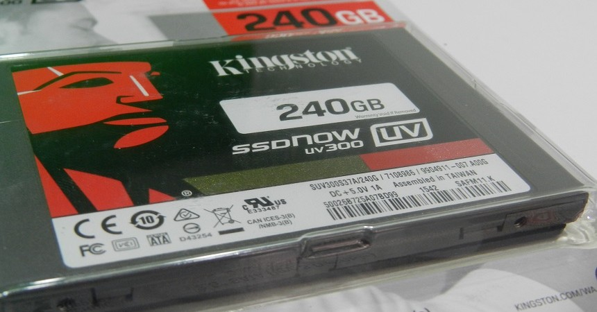 Kingston SSDNow UV300 SSD Review