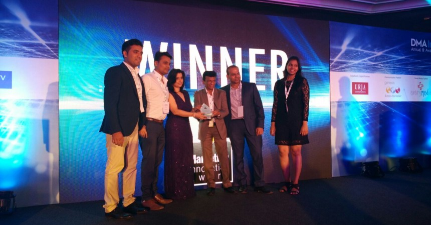 Kenscio Digital Continues Its Dominance In Digital Marketing; Wins DMAi Annual Awards 2016 Consecutively For Second Year