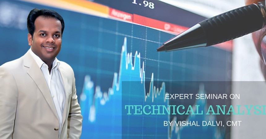 Technical Analysis Seminar By Market Expert Vishal Dalvi At NL Dalmia Institute of Management & Research!