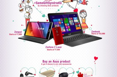 Cure Your #SameGiftSyndrome With ASUS' Valentine's Day Offer