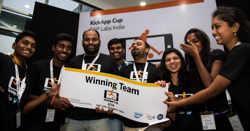 SAP Labs And Young Leaders From Disadvantaged Backgrounds Develop A Mobile Application