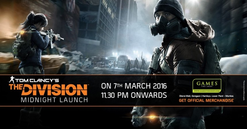 Games The Shop To Host Midnight Launch For Tom Clancy's The Division