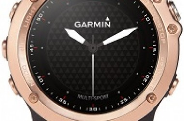 Introducing Fenix® 3 Sapphire Rose Gold-tone: The Next Smart Multi-sport GPS Watch from Garmin®