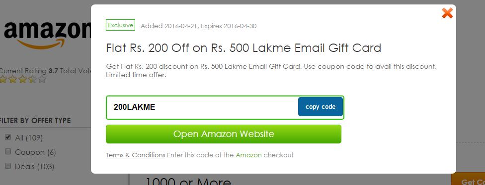 Details - Amazon Coupons & Deals