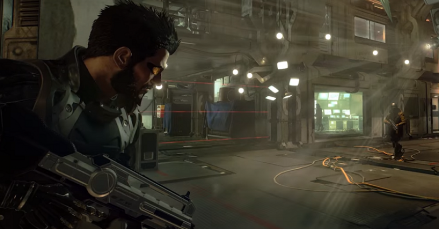 Deus Ex: Mankind Divided Joins The Playstation®4 Pro Launch Line Up