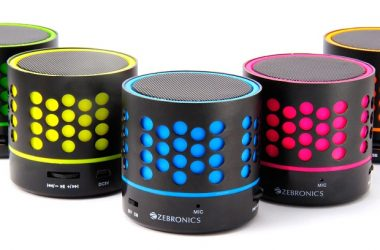Zebronics Launches its Peek -a- Boo 'DOT Bluetooth Speakers' Only For Rs. 777