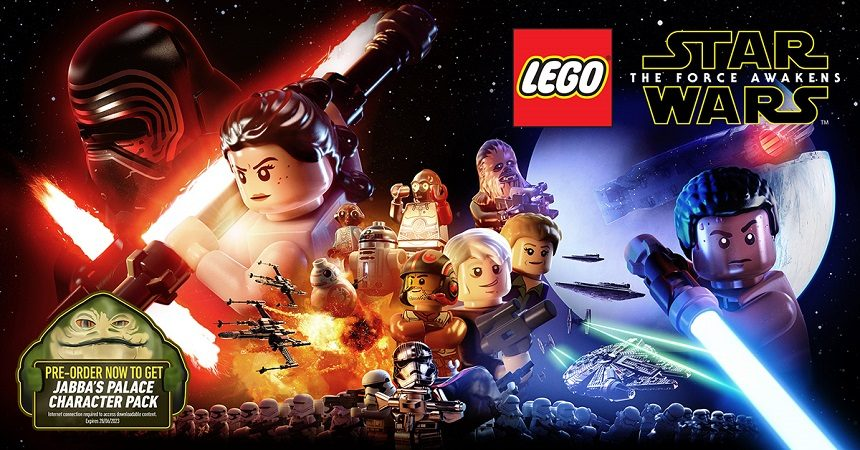 Pre Order Lego® Star Wars™: The Force Awakens And Get Jabba Palace Character Dlc