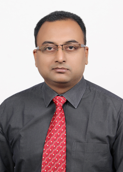 Pinaki Chatterjee,Director Sales India and SAARC