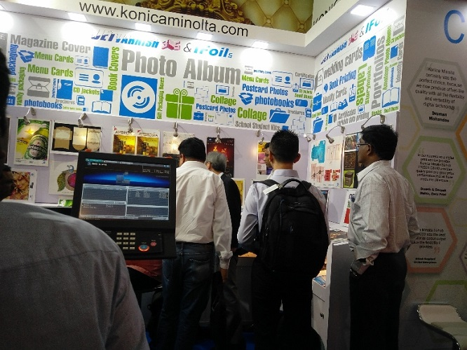 Konica Minolta at Digi Image 2016 Exhibition