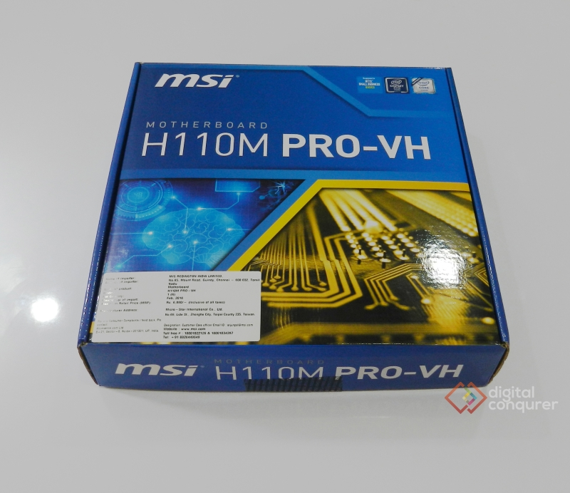 MSI H110M Pro VH - Budget Motherboard India