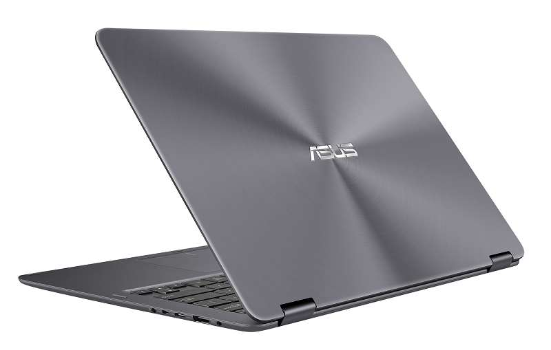 ASUS ZenBook Flip_UX360CA_Mineral Grey_up to 12 hours battery life