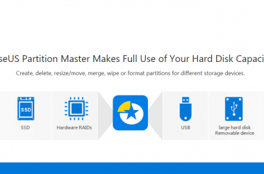 EaseUS Partition Master: All In One Disk Management Tool