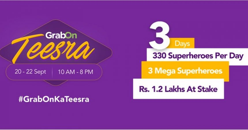 GrabOn, India's #1 Coupon Company Completes 3 Successful Years
