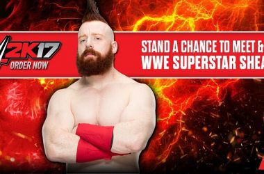 Order WWE 2K17  And Get A Chance To Meet Sheamus
