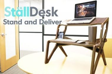 StallDesk: A Revolution In Your Workday