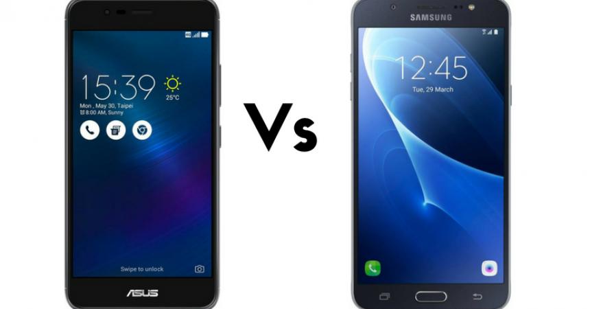 Asus Zenfone 3 Max (ZC520TL) Vs Samsung Galaxy J7 (2016)