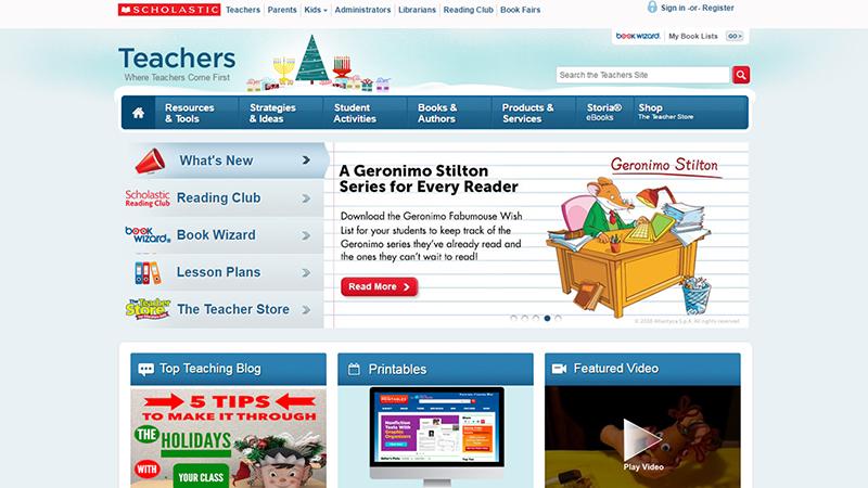 Scholastic For Teachers
