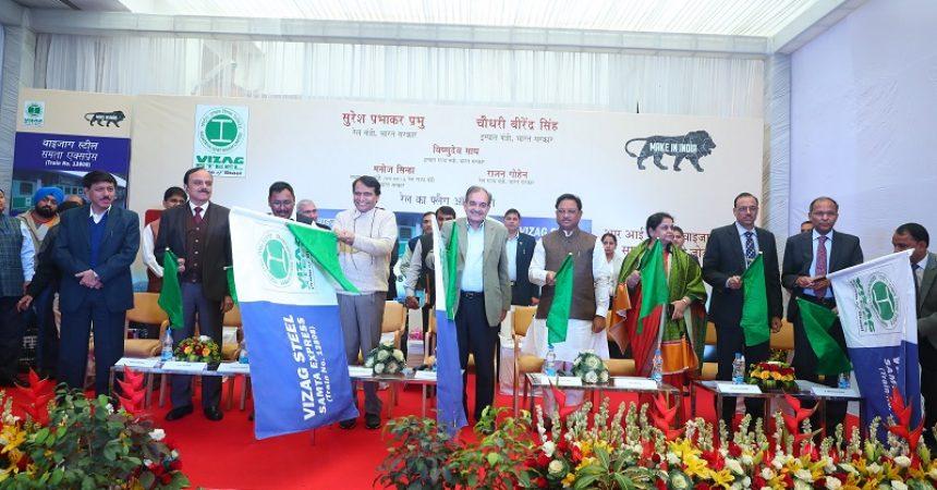 RINL-Vizag Steel Brand Promotion Through Indian Railways