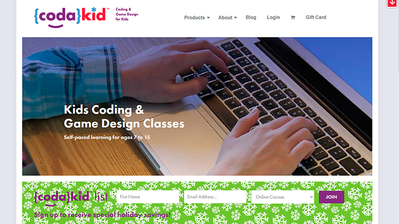 Codakid - Educational Websites for Kids