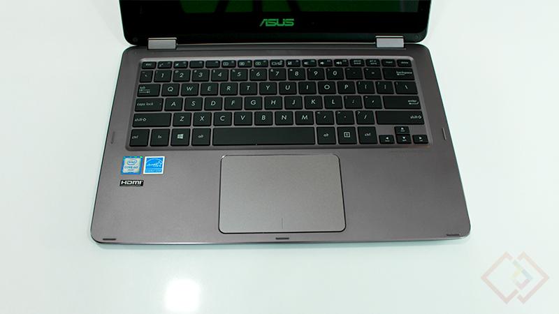 zenbook flip keyboard