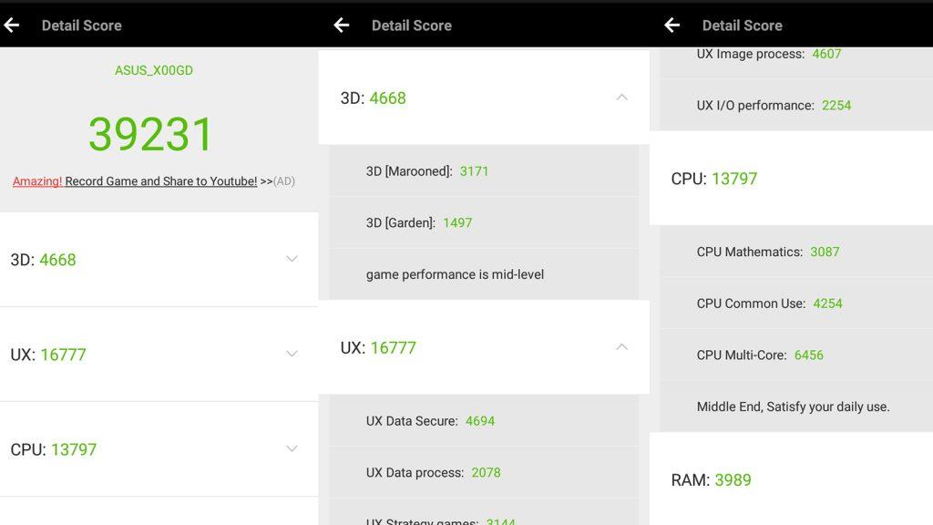 Zenfone 3s max benchmarks