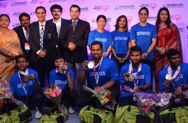 Herbalife Celebrates The Outstanding Achievements Of India's Special Olympics Athletes