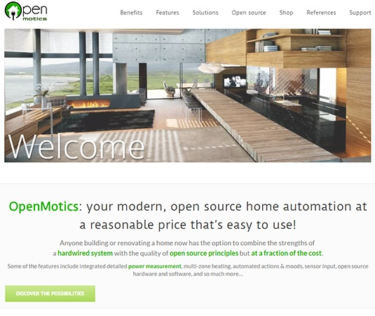 openmotics open source home automation