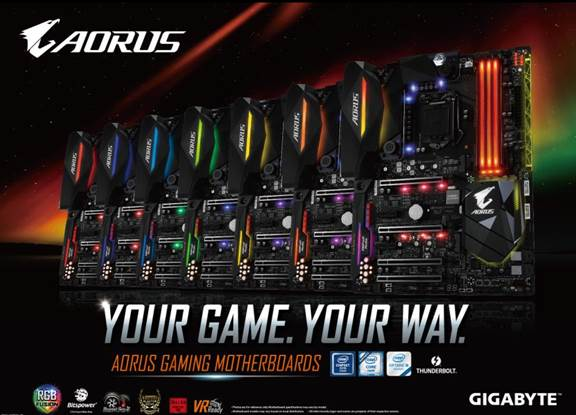 gigabyte motherboards
