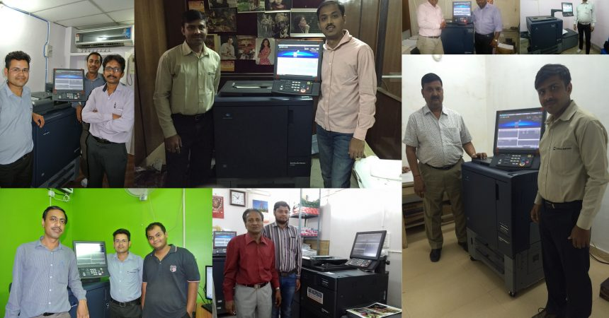 Konica Minolta's Bizhub PRESS C1060 Digital Press Witnesses Record Deployment In Eastern India In 2016-17