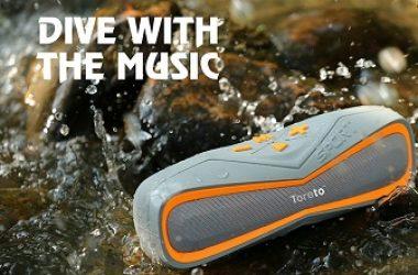 "Toreto Launches ""Aqua"" – Waterproof Bluetooth Speaker TBS 325"