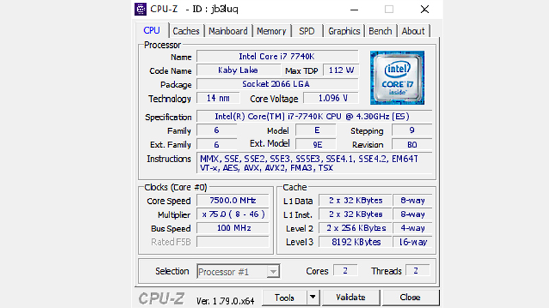 Motherboard Benchmark