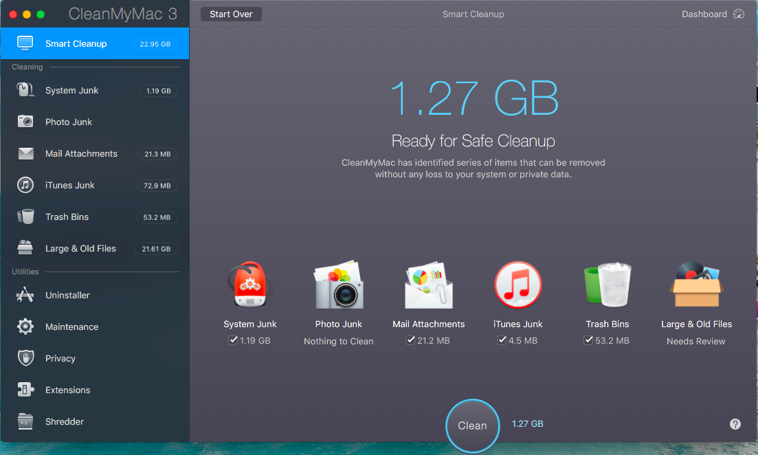 CleanMyMac3 Review - Mac Maintenance App