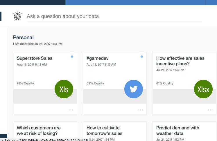 Watson Analytics Data Load 2