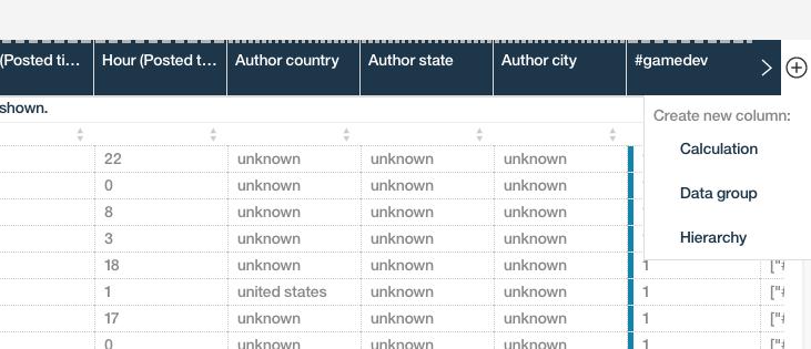 Watson Analytics Data Refine 2
