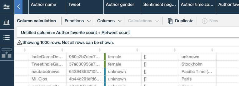 Watson Analytics Data Refine 3
