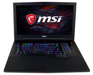 msi gaming laptops 2017