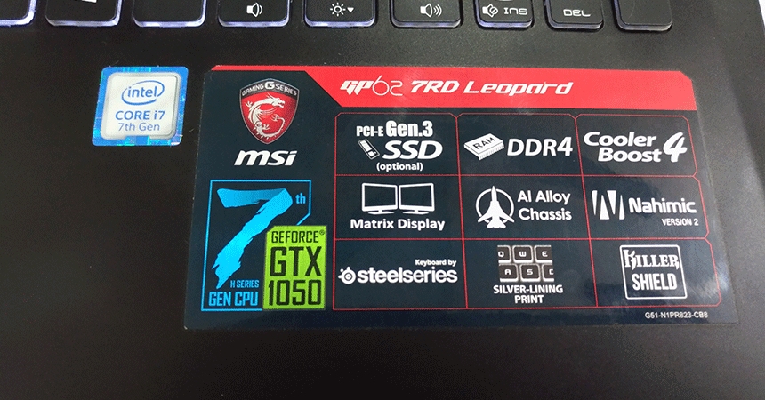 msi leopard pro specifications