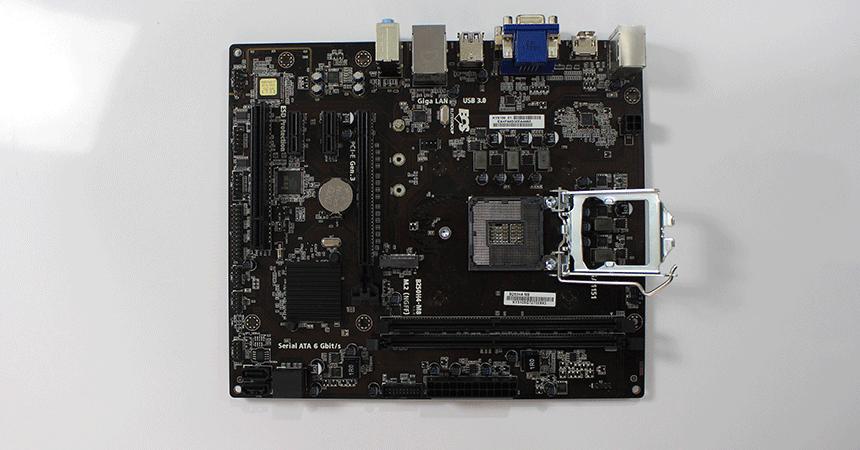 ECS motherboard