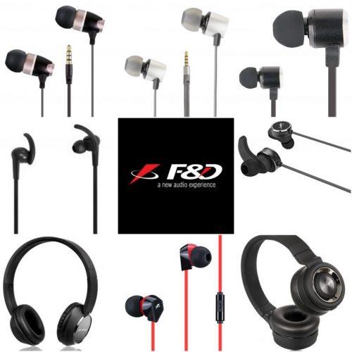 FD Series of Earphones Headphones e1505819081969