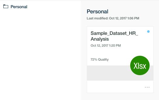 1.Use case Import dataset
