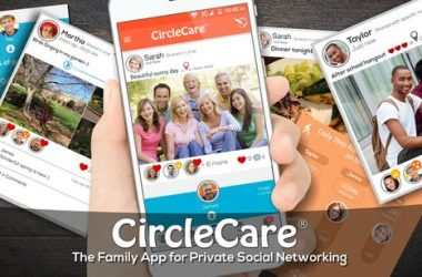 Coping middle school stress with CircleCare family support App