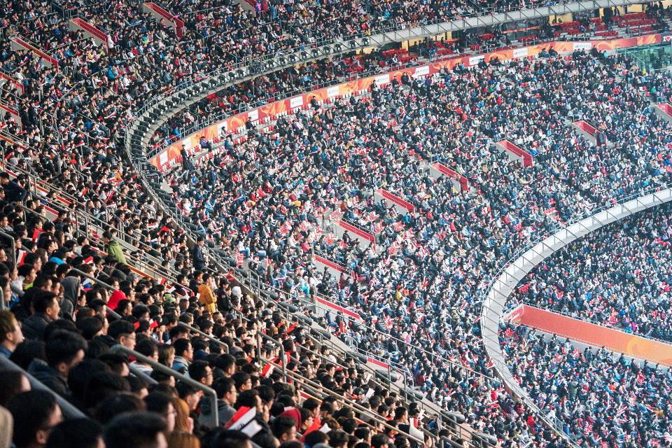 esports live match in stadium