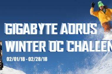 GIGABYTE Announces the AORUS Winter OC Challenge